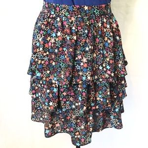 J. Crew Tiered Star Skirt